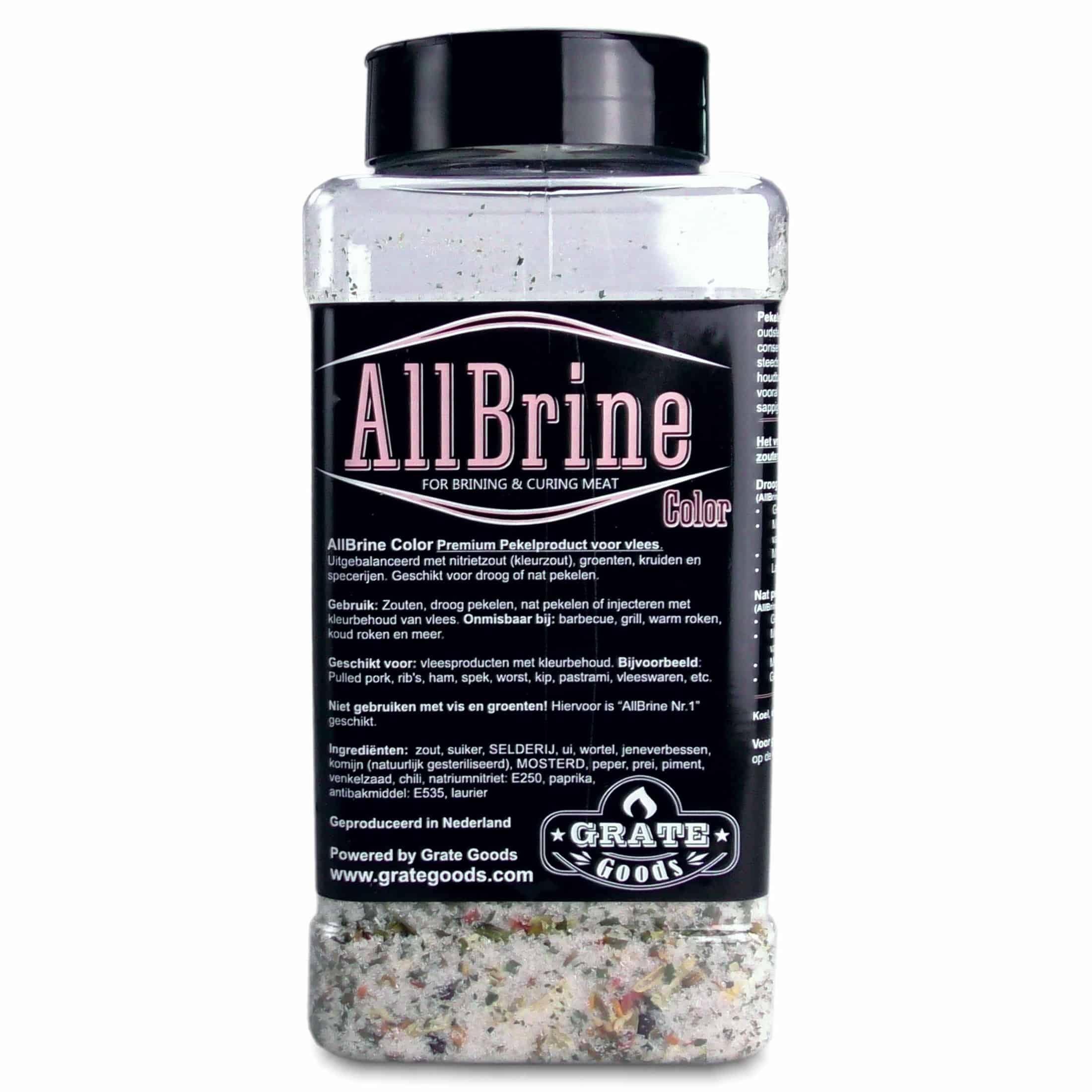 Grate Goods All Brine Color